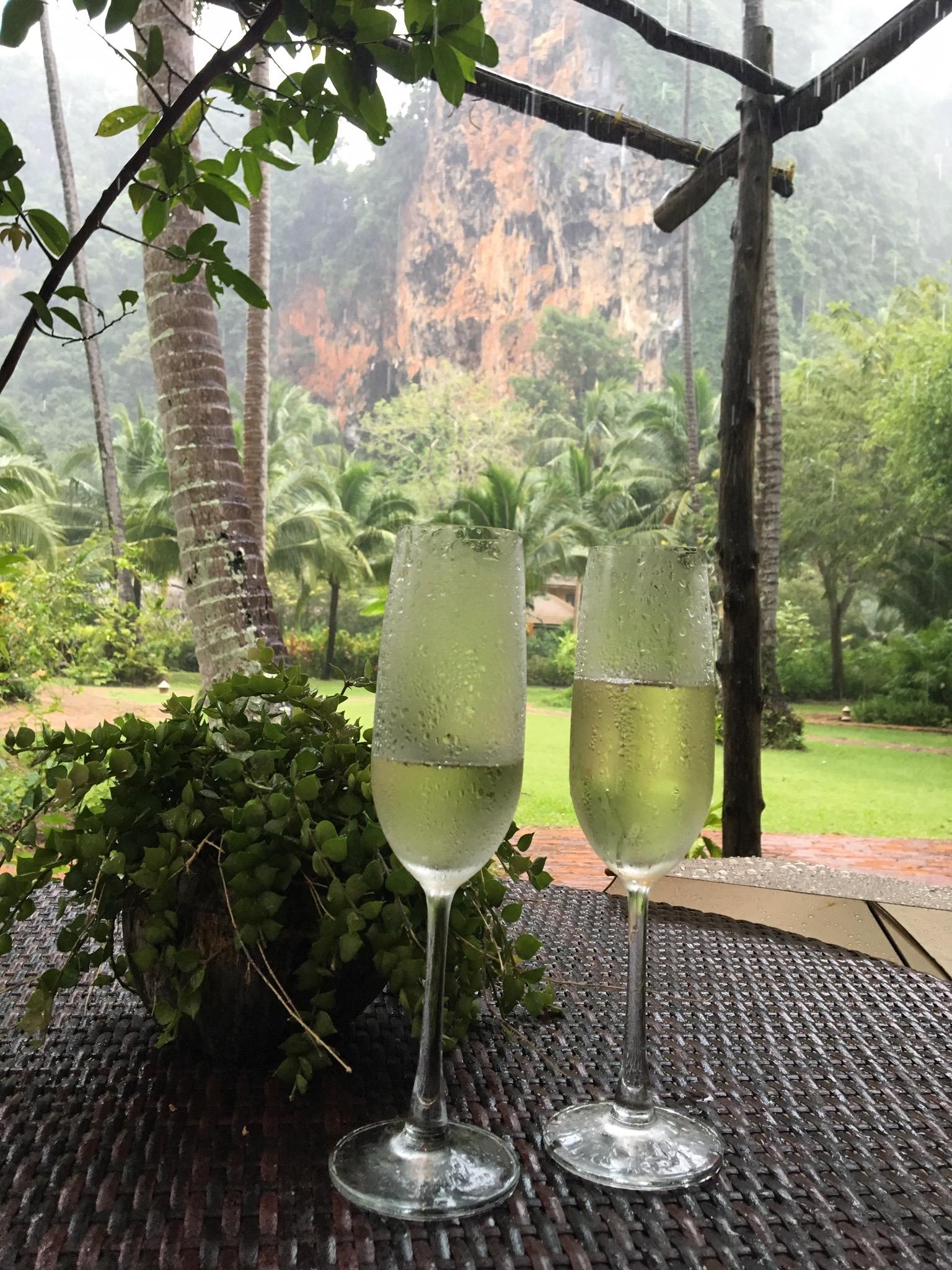 Rayavadee Champagne in Thailand www.trialbyinspiration.com