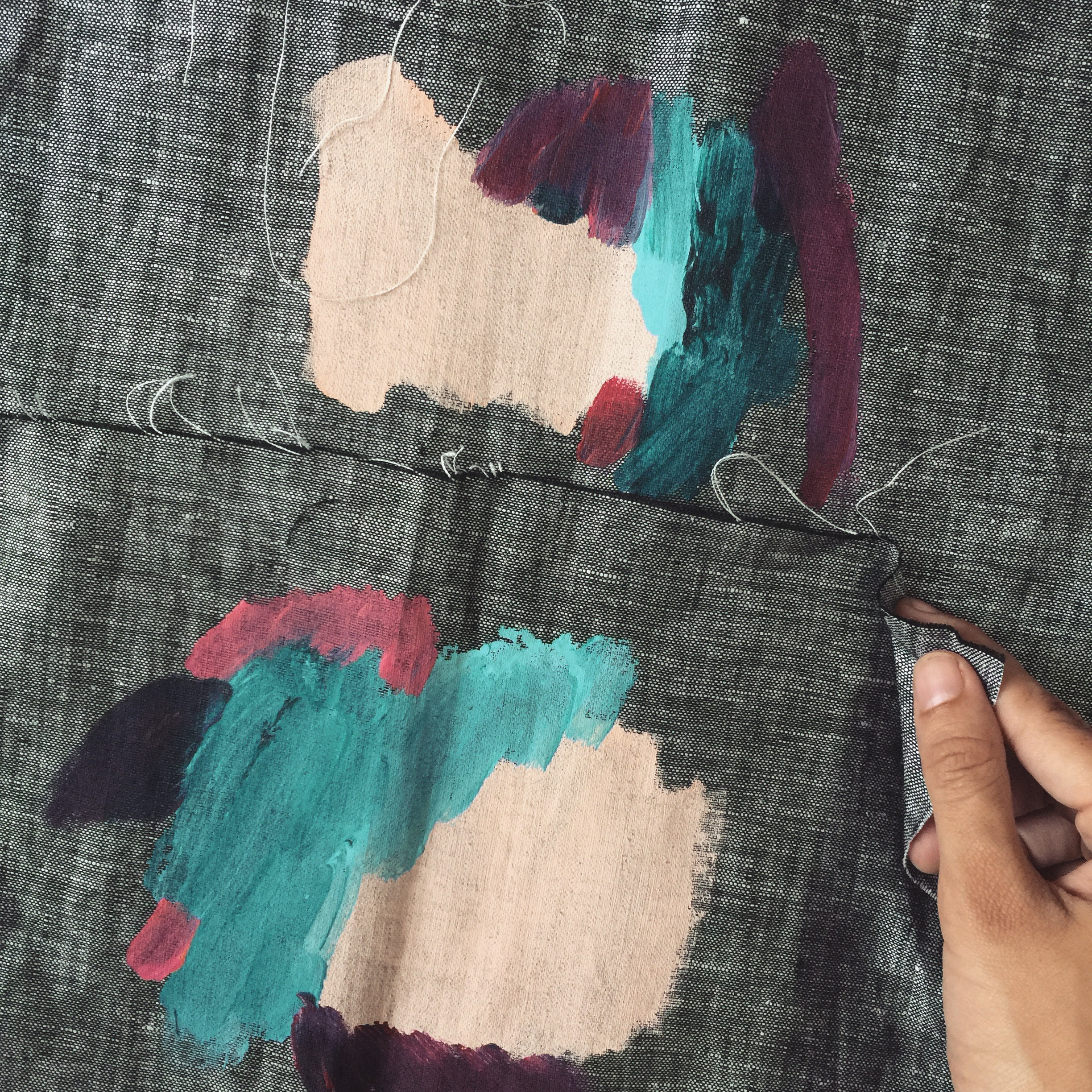 Textile Design by artist Nadia Nizamudin Instagram Crush www.trialbyinspiration.com