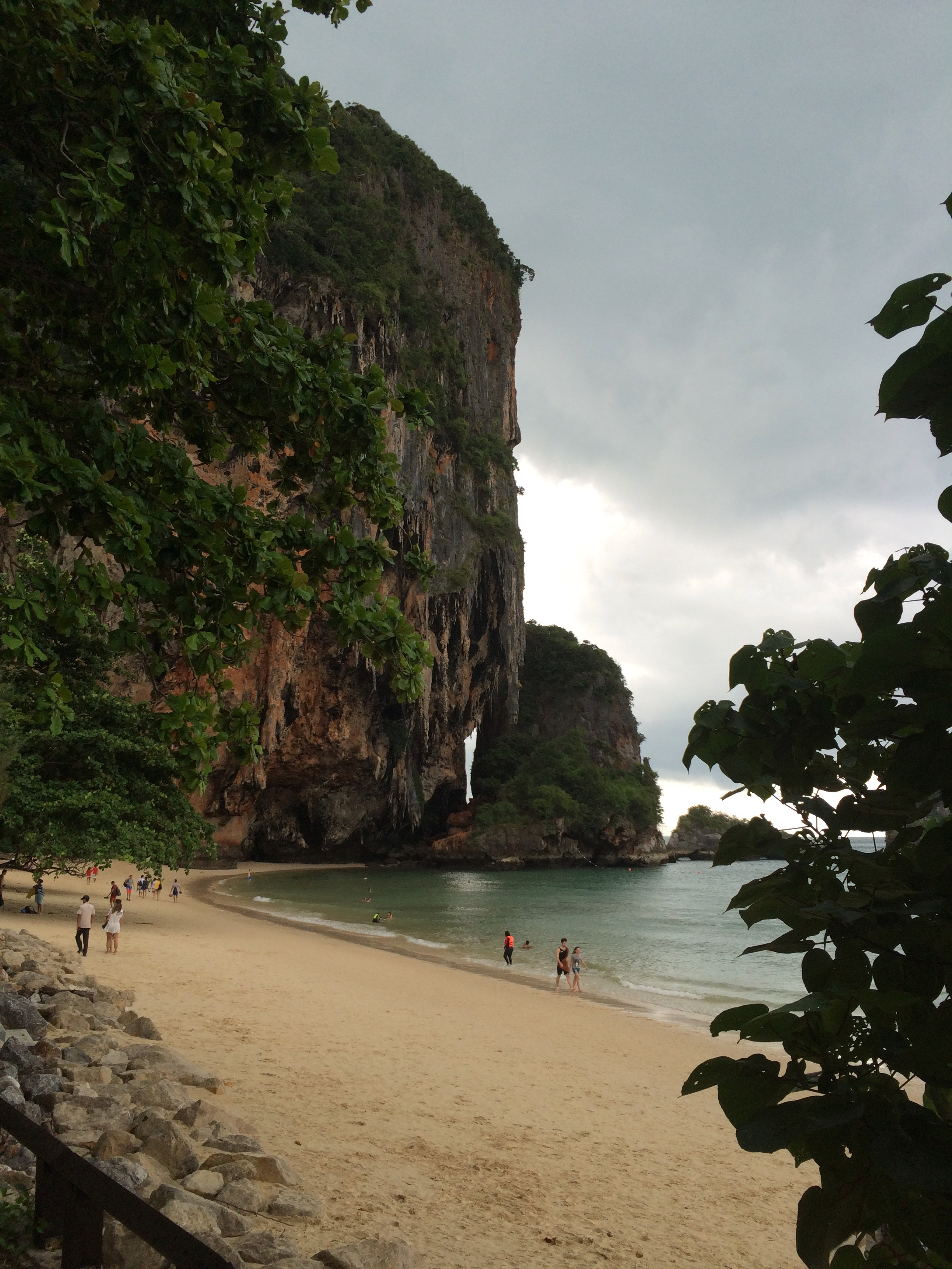 Rayavadee Phranang Beach Railay Beach www.trialbyinspiration.com
