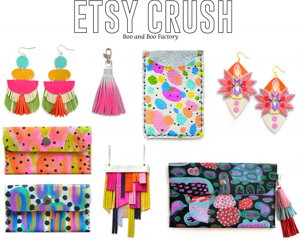 Etsy clutch, love these accessories, the color, and print! check out more www.trialbyinspiration.com