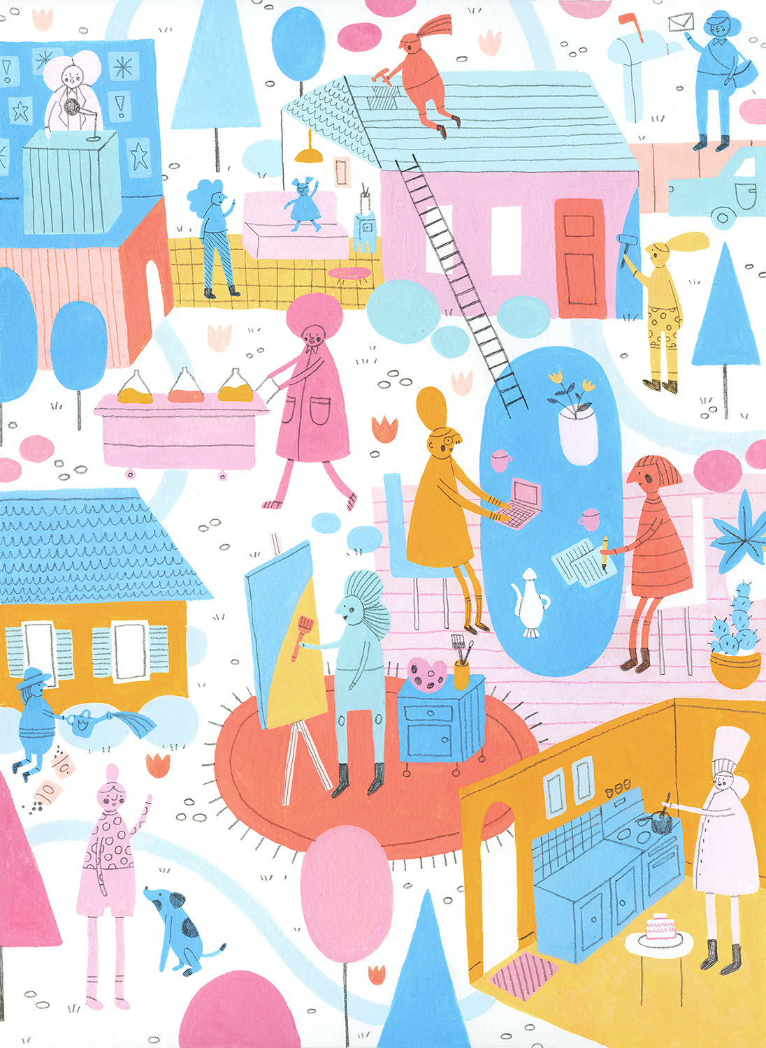 Instagram Crush Illustrator Molly Egan www.trialbyinspiration.com
