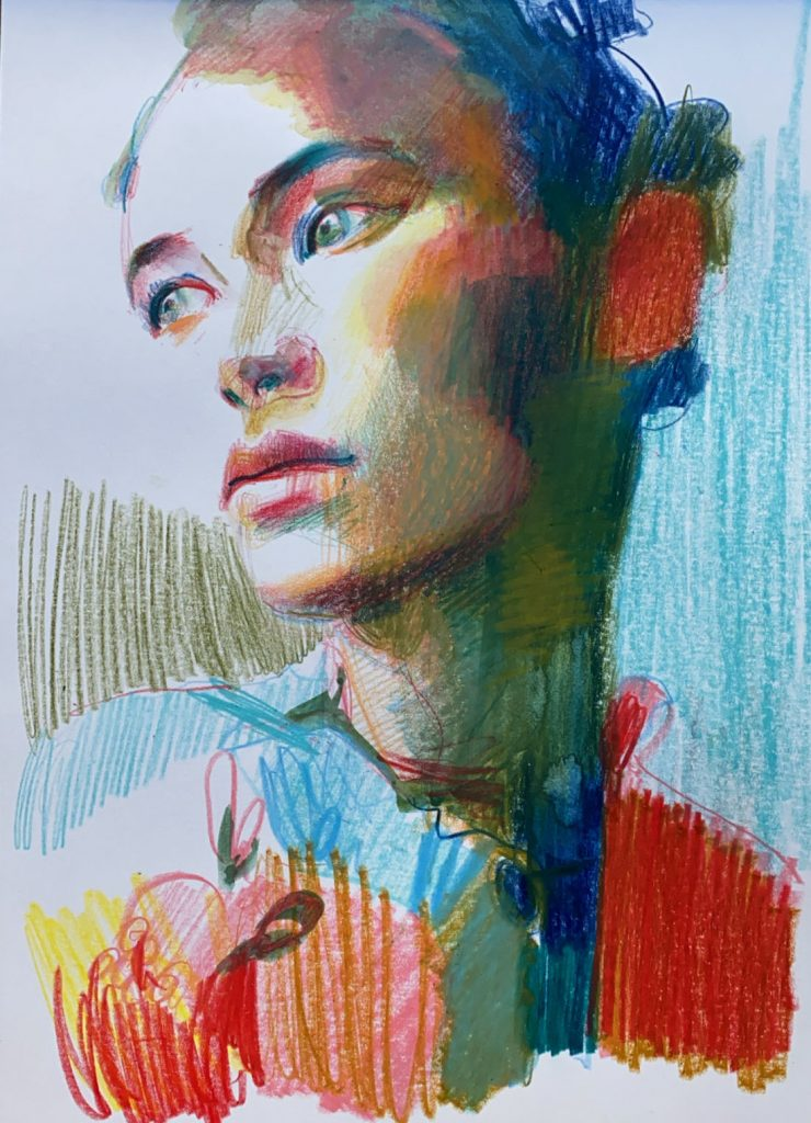 Interview with Fashion Illustrator Chris Gambrell www.trialbyinspiration.com